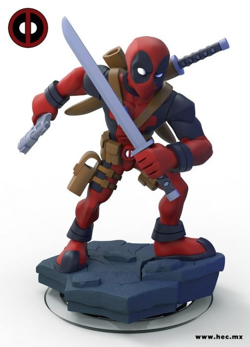 Figura de Deadpool