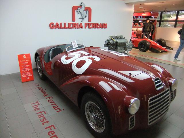 El primer Ferrari de la historia