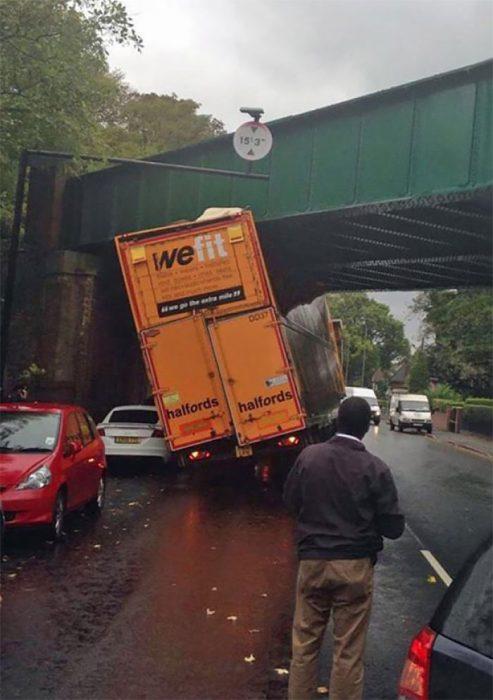 camion chocado