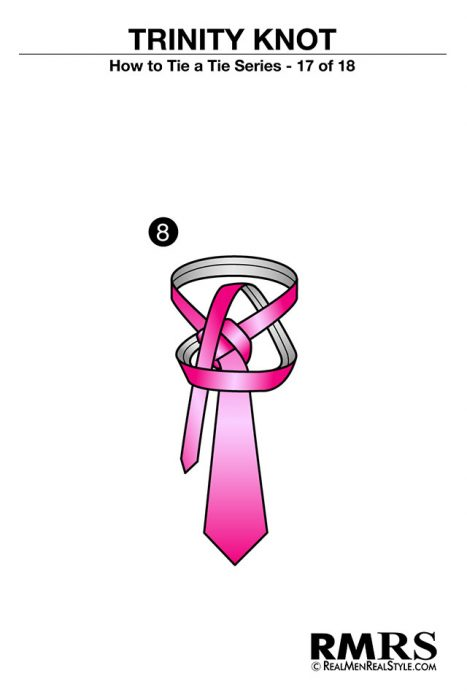 paso 8 corbata