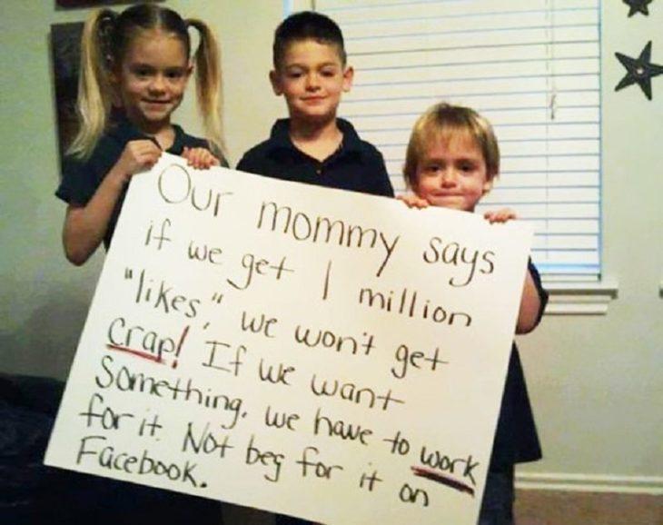 niños con nota