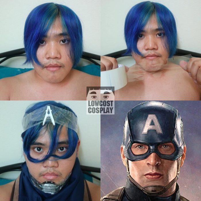 capitan america cosplay