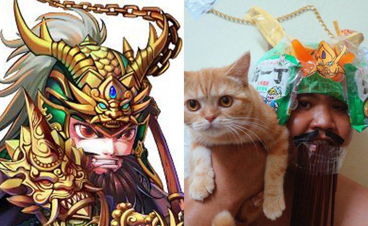 batalla de los tres reinos cosplay