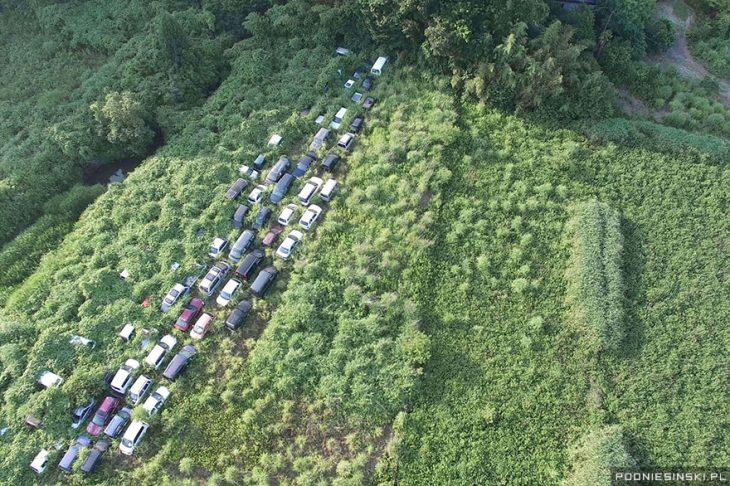 carros en fukushima