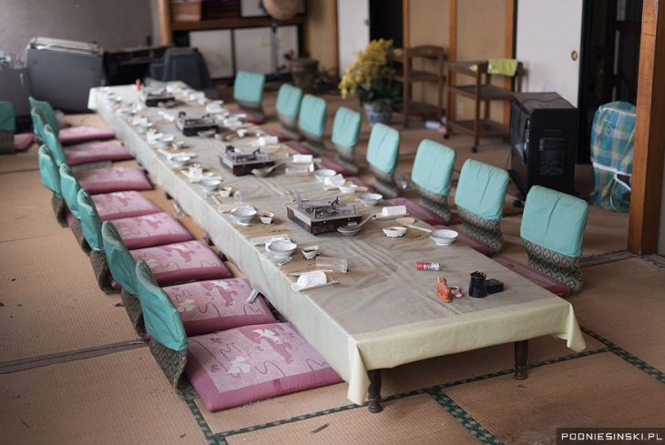 mesa para comer japon