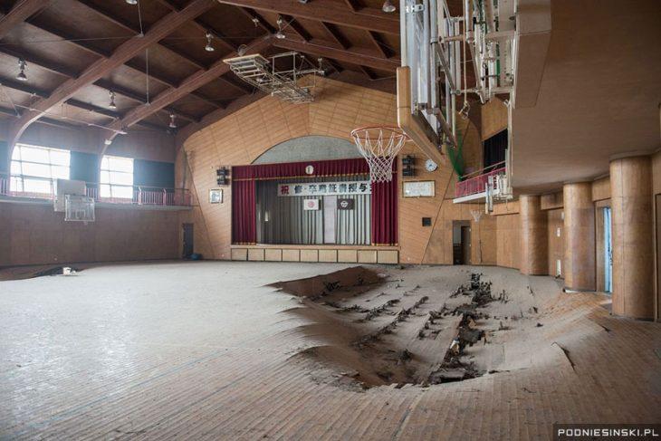 cancha basquet fukushima