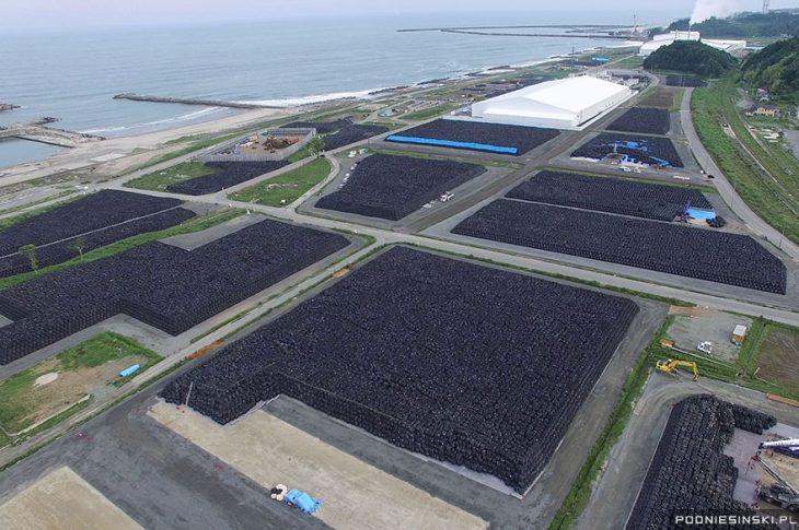 foto aerea tiera fukushima