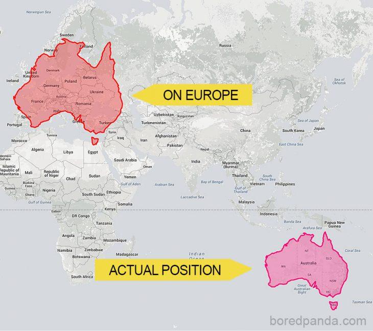 Australia en europa