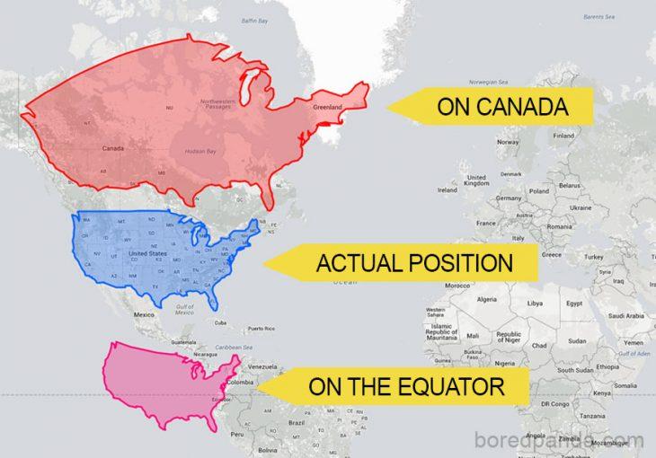 mapas de EEUU