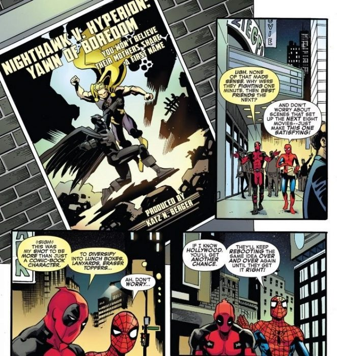 comic spidey deadpool