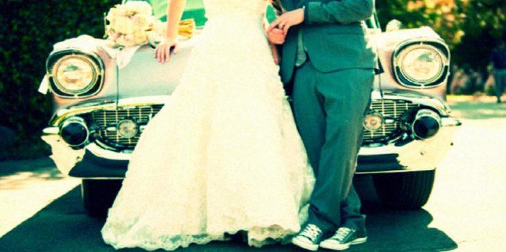 pareja casados