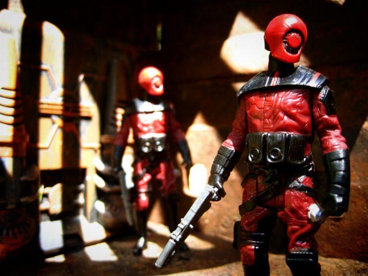 soldados rojos juguietes