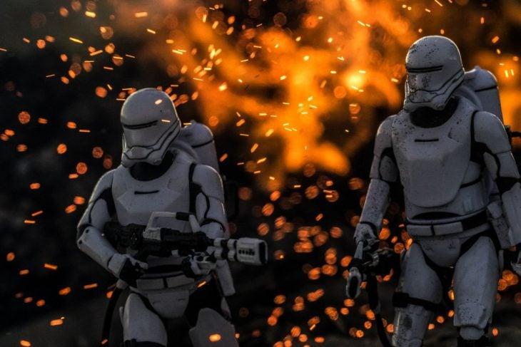soldados fuego starwars
