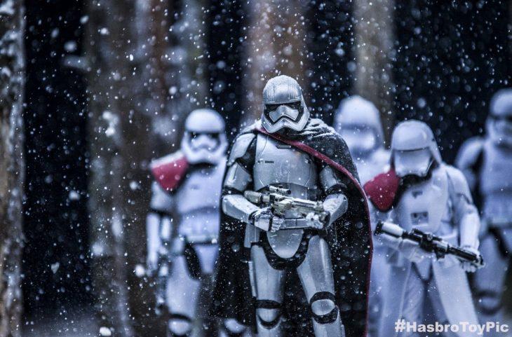 soldados en nieve star wars