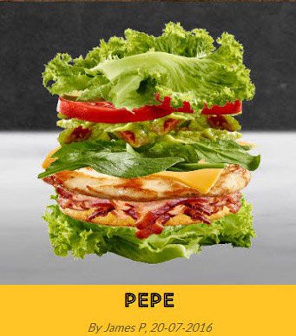 lechuga hamburguesa