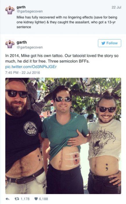 amigos final feliz tattoo twitter