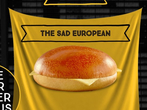 sad eurepean hamburguesa