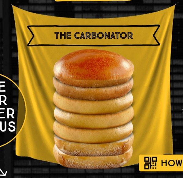 carbonator hamburguesa
