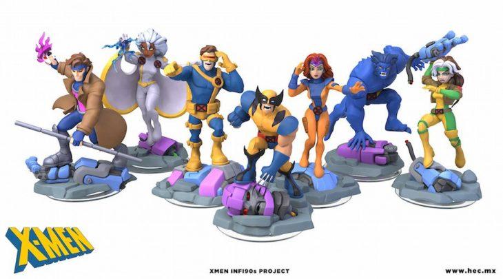Figuras de los X-Men
