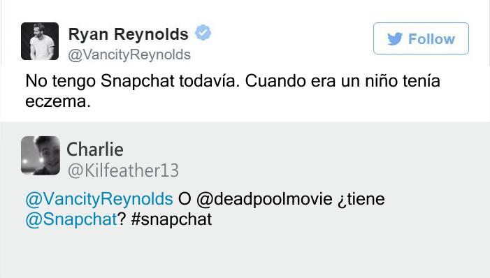 tweet Ryan Reynolds