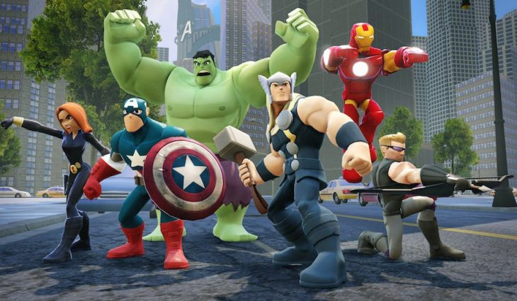 Los Vengadores en versión de Disney Infinity