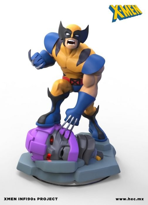 Figura de los X-Men