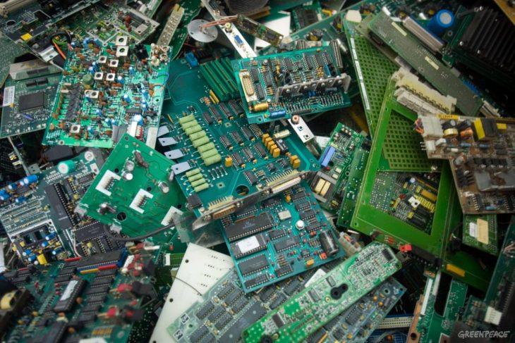 basura electónica