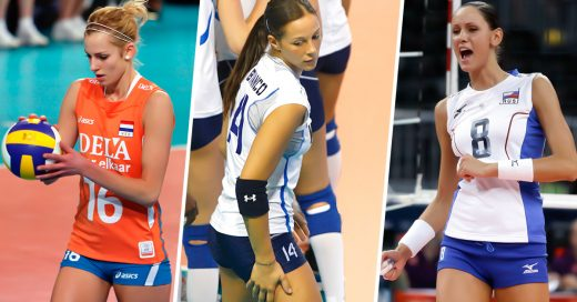 COVER 34 Bellas razones por las que ningún Hombre debe perderse el Volibol Femenil en Río 20