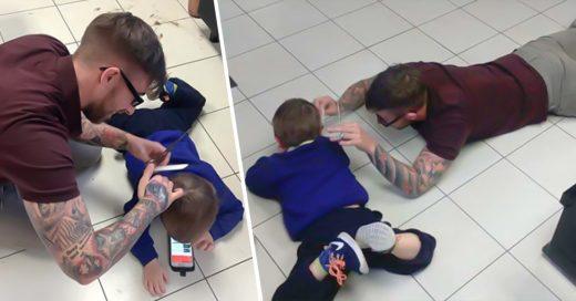 COVER Barbero ayuda a un pequeño con autismo e inicia otro proyecto para ayudar a más niños