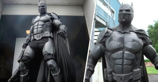 COVER Fan crea este Épico traje de Batman