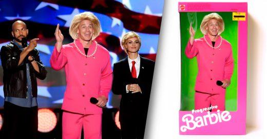 COVER John Cena se viste como Hilary Clinton