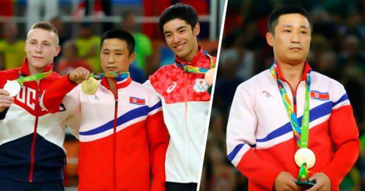"""COVER Se burlan de atleta norcoreano por """"estar Triste al ganar el Oro""""; pero él"""