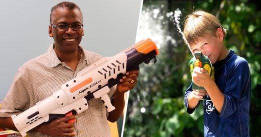 COVER ingeniero de la NASA que inventó la pistola de agua más poderosa del mundo