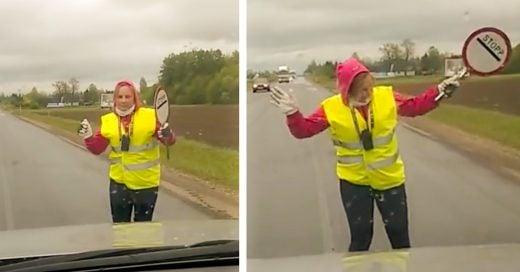 Cover-Controladora-de-trafico-vehicular-baila-en-medio-de-la-carretera