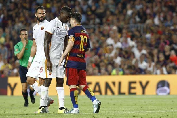 Messi contra la Roma