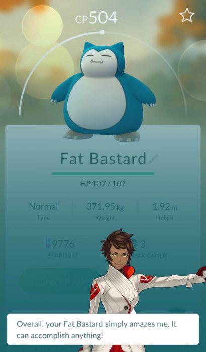 gordo bastardo pokemon