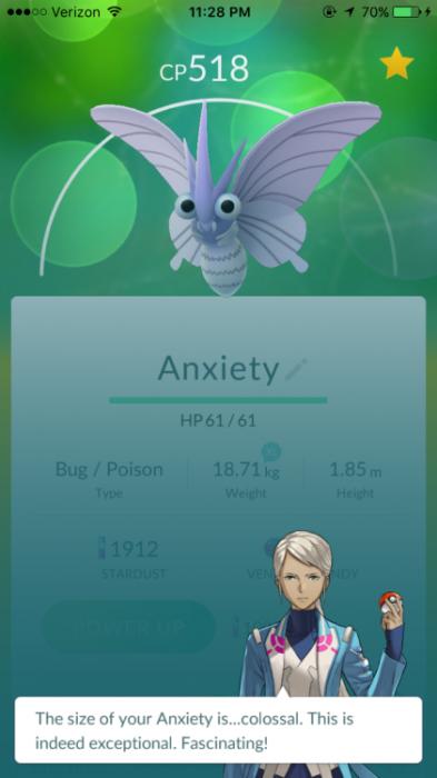 ansiedad pokemon