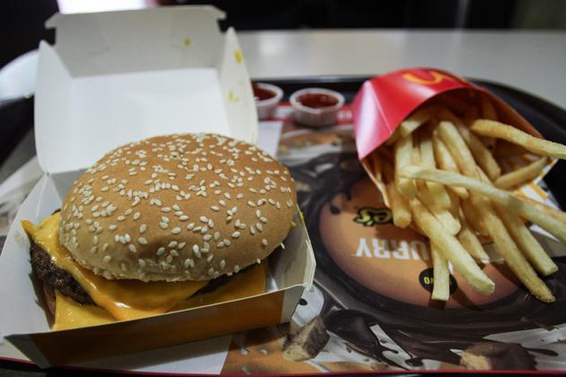 Combo de McDonald's
