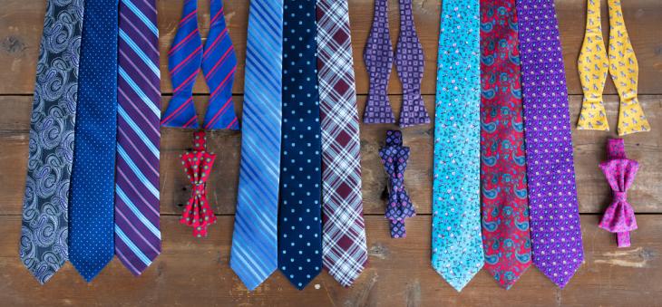 estilos corbatas