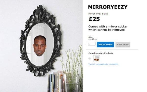 Colección de muebles para Kanye West