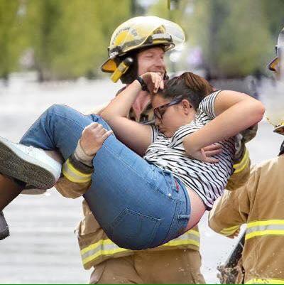 dormida bombero