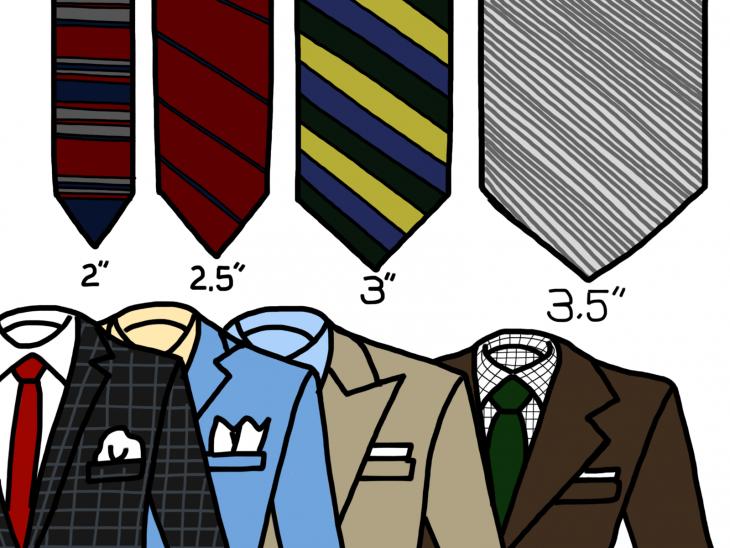 corbata ancho