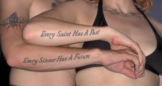 Tatuajes de pareja terribles
