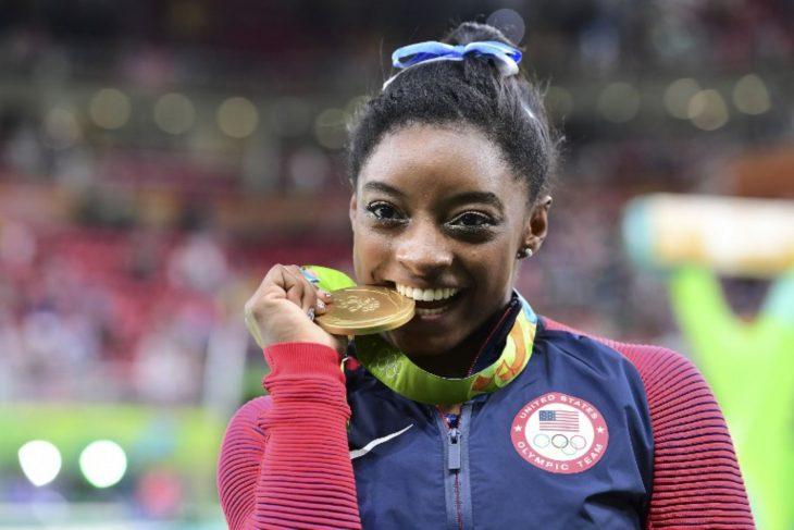 Gimnasta ganadora del oro