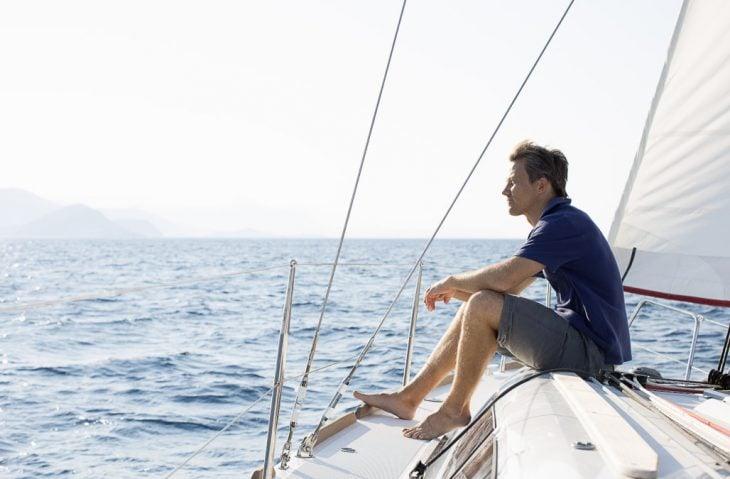 hombre velero