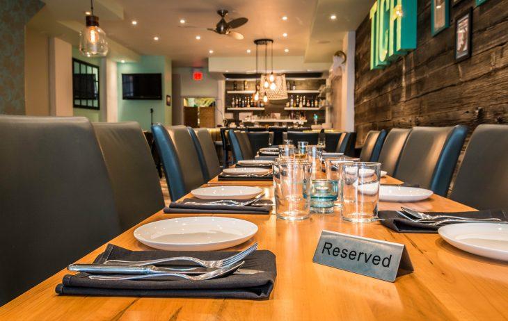 restaurante reservación