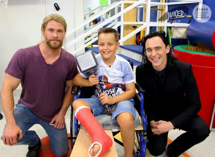 visita Thor Loki a hospital