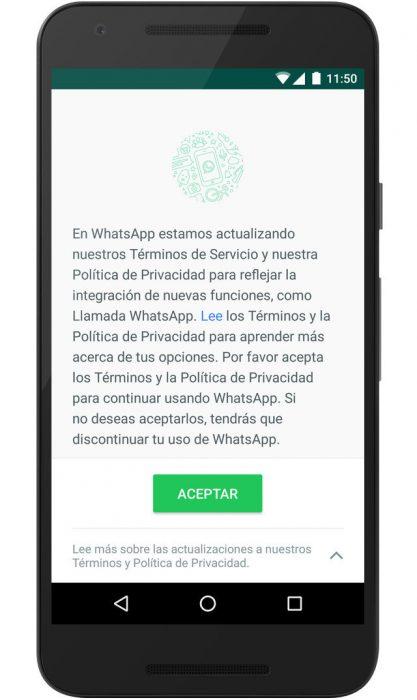 Whatsapp compartirá toda tu información con Facebook[Sol.]