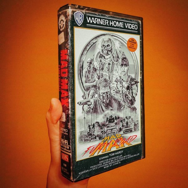mad max vhs