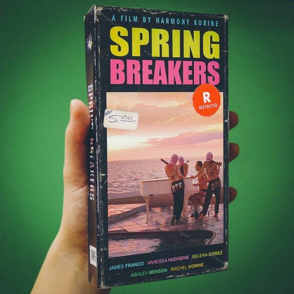 spring breakers vhs